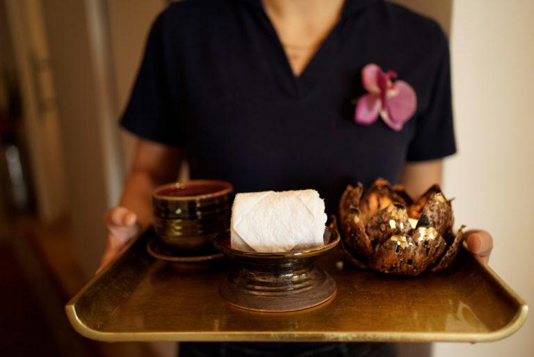 Devari Massage Tablett